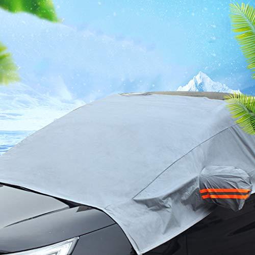 Cubierta del Parabrisas del Coche, Láminas de protección contra el Hielo y Nieve Helada Cubierta de limpiaparabrisas Protector Solar a Prueba de Polvo para Todo Clima.