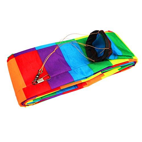 Sharplace 15 Meter Lang Mehrfarbig Nylon Einleiner Drachen Schwanz, schöner Macht den Wind sichtbar! - # 2