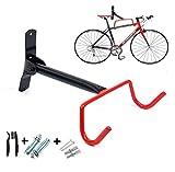 FIVE FLOWER bike Wall Mount Rack Storage Hanger - Garage Bicycle Holder Folding Space Saver