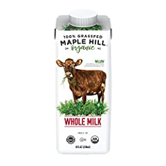 MILK YOU CAN FEEL GOOD ABOUT: We are the original 100% grass-fed organic milk brand in America. Maple Hill is committed to sustainable practices and the ethical treatment of animals. BETTER FOR THE PLANET: Our FSC certified aseptic milk boxes are 100...