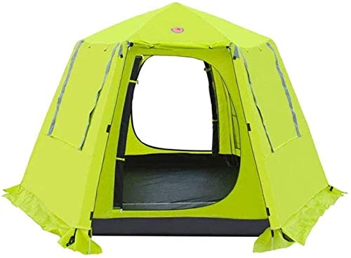 Plztou Tent for Camping Camping Tent, Portable Family Tents, Automatic Pop Up Camping Tent Protection Easy Set Up Dome Tent Waterproof Backpacking Tents Sun Shelter