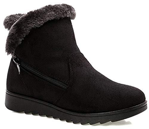 2019 Zapatos Invierno Mujer Botas Nieve Casual Calzado