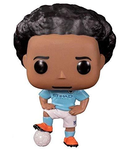 Funko - Pop! Football: Manchester City - Leroy Sane Figura De Vinil, Multicolor (42790)