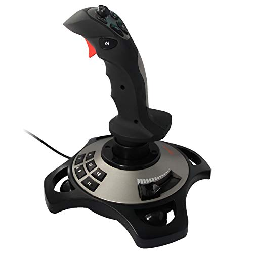 PXN-2113 Spiel Flight Joystick Flugsimulator Spiel Rocker-Controller Flight Stick Bar Vibration Flight Joystick für PC