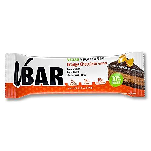 Veganer Eiweißriegel - VBAR 65gx12 (Orange Chocolate)
