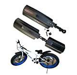 26 inch Bicycle Mudguard Front Back Rear Tire Mud Guards Kit Quick Release Bike Fenders Set for Road Mountain Bike Fat Tire Bike Outdoor Cycling