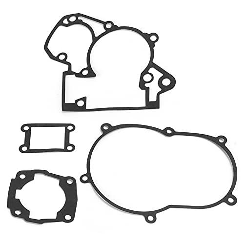 Changor Motor Empaquetadura, Goma-saburral Cortado Oído Enchufe Cabeza Juntas con Papel y Inoxidable Acero Acero Centro Materiales por 50 Sx 50 Mini 50cc 50sx 2002‑2009