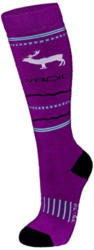 Wapiti Kinder WK04 Socke, Beere, 31-34