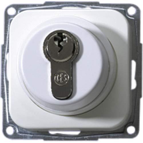 OPUS 1 Schlüsselschalter und -Taster Ausführung Profil-Halbzylinder mit 3 Schlüsseln*, Farbe