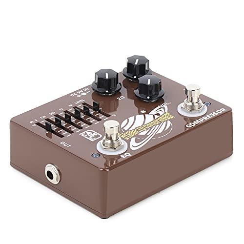 Caline DCP-10 Stella Bass Compressor EQ Effect Pedal Dual Pedal