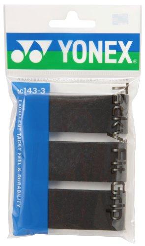 ヨネックス タッキーフィットグリップ ブラック 1セット 30本:3本×10パック