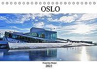 Oslo - Norwegen (Tischkalender 2022 DIN A5 quer): Norwegens schoene Hauptstadt Oslo. (Monatskalender, 14 Seiten )