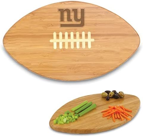 PICNIC TIME New York New York Mall Giants Max 79% OFF Cutting Board Bamboo Touchdown