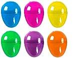 48 Uova di Pasqua in plastica, Uova di Pasqua con Filler, Ideali per la Caccia all'uovo dei Bambini