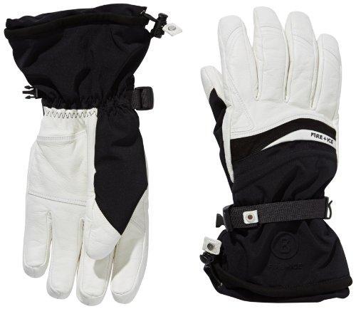 Bogner Fire + Ice Herren Handschuhe Josh, Offwhite/Black, 9