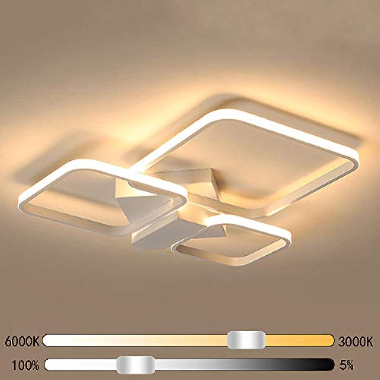 64W LED Wohnzimmerlampe Dimmbar Deckenleuchte Deckenleuchte ...