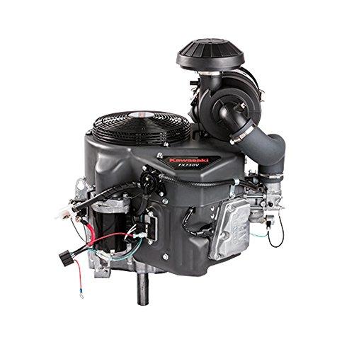 Kawasaki FX730V-S00 23.5hp Twin Cylinder Vertical 1 1/8' x4-3/8 Keyed Shaft, Electric Start, OHV, Fuel Pump, Oil Cooler, 15Amp, Snorkel Air Cleaner, Engine