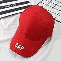 kyprx Sombrero de Primavera y Verano, Visera Salvaje, Gorra de béisbol de Moda, Gorra Exterior Masculina