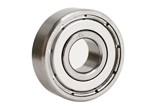 2 Stück CQ (c) 6001 ZZ/2Z/Z/2ZR/ZR (Maße: 12x28x8 mm) Angebot mit verschiedenen Staffelpreisen/Kugellager Innendurchmesser 12 mm