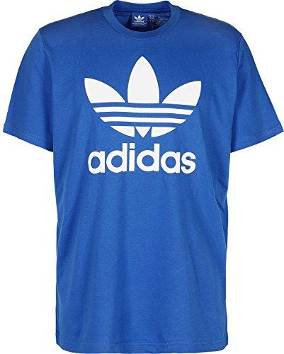 adidas Herren T-shirt Originals Trefoil, Bluebird, L