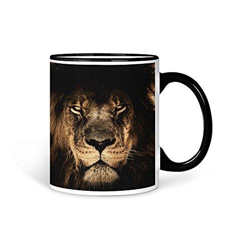 aina Tasse Kaffeetasse Löwe Tier V4