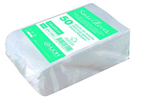LCH Sensigloves Einweg-Waschlappen, 50 Stück