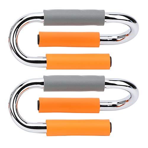 Empuje hacia Arriba los músculos del Ejercicio del Entrenador Fácil operación PPush Up Bar Bracket para Viajes de Oficina