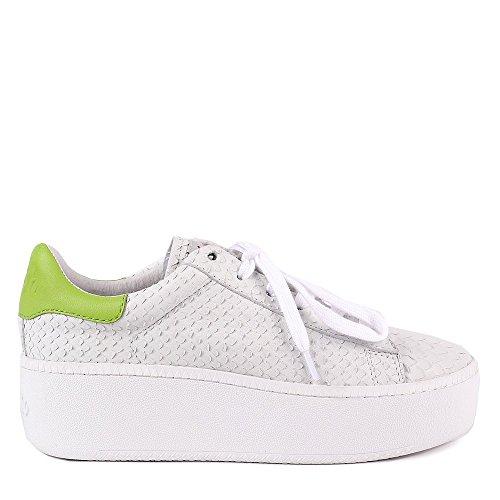 ASH Schuhe Cult Sneaker Grau Damen 39 EU WeiB/Lime