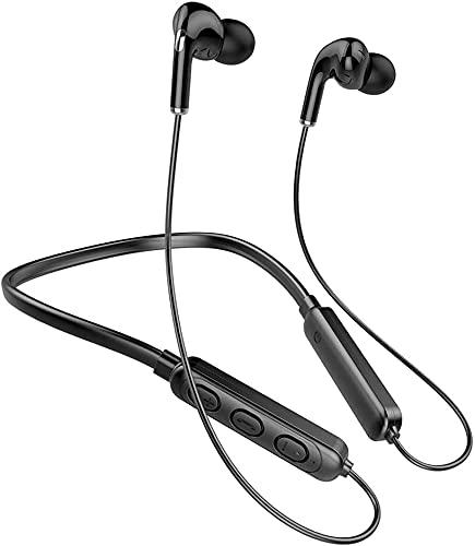 Auricolari Bluetooth, Auricolari Cuffie Sport Auricolari In-Ear Bluetooth Bassi Potenti,IPX7 Impermeabili,Alta Qualità del Suono,Correre Fitness per iphone,Xiaomi,Android