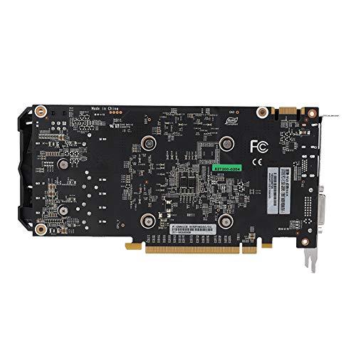 Bewinner Carte Graphique NVIDIA, Carte Graphique d'ordinateur GDDR5 pour GeForce GTX950, Ventilateur de Refroidissement Double à 6 Broches Excellent Support de Carte Graphique muet HDMI DVI DP
