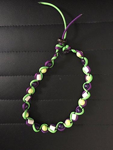 Chaîne de Céramique Em/zeckenschut pour chien contre les tiques Taille Choisissez Violet/vert fluo Designed By knauly