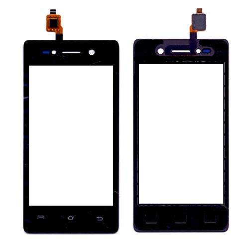 Touch Screen Digitizer for Lava A52 Black