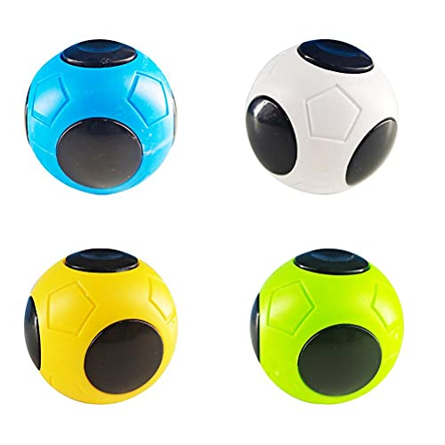 PUCHA Fidget Toys, Spinning Tops, Finger Football Spinning Top Toy Puzzle Ball Fingertip Toy Rompecabezas para niños y Adultos