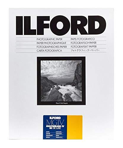 Ilford Multigrade IV RC Deluxe 25M - Druckerpapier (190 g/m², 100 Blätter, 12.7 x 17.8cm)