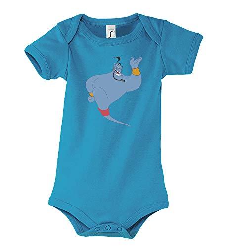 Youth Designs Baby Kurzarm Body Strampler Modell Gini Aladdin, Gr. 3-6 Monate, Blau