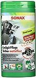 SONAX CockpitTücherBox matt GreenLemon, 30 Tücher | Art-Nr. 04128000