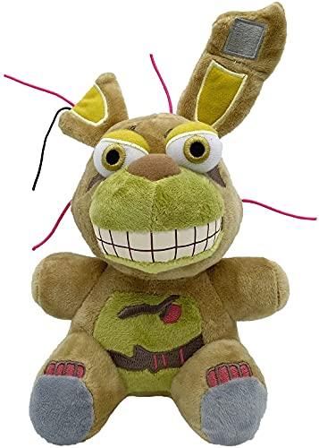 """Five Nights at Freddy's Plush Toy adecuado para colección, muñeco de peluche FNAF Plushies para niño niña, regalo de cumpleaños de Navidad y Halloween, 8"""""""
