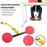 Mini Stepper mit Widerstandsbändern, Freizeitbüro Dekompression Druck abnehmen Swing Leg Walker...