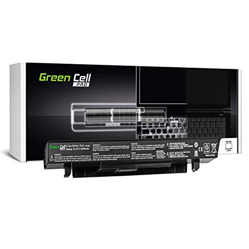 Green Cell PRO A41-X550 A41-X550A Akku für Asus Laptop (2600mAh 14.4V Schwarz)