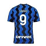 2020-2021 Inter Milan Inicio Nike fútbol camiseta (Romelu Lukaku 9)