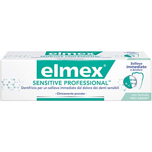 48 x 20ml ELMEX SENSITIVE PROFESSIONAL DENTIFRICIO 20 ML FORMATO VIAGGIO