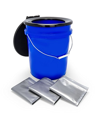 Camco 41549 Toilet Bucket Kit with Seat,1 Pack 5
