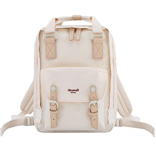 Himawari School Waterproof Backpack 14.9' College Vintage Travel Bag for Women,14 inch Laptop for Student (HIM-59#)
