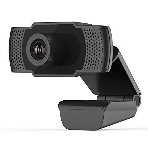 Socobeta Cámara de computadora 1080P Webcam con micrófono