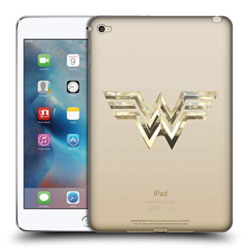 Official Wonder Woman 1984 Gold Logo Art Soft Gel Case Compatible for Apple iPad mini 4