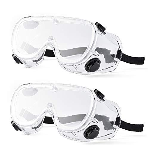 Gafas de seguridad antivaho Safeyear SG032 resistentes a los arañazos y con protección UV para hombres, gafas de trabajo