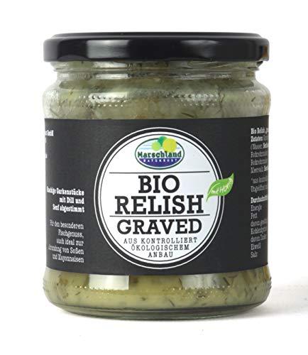 Marschland Bio-Relish, graved, 6 stück