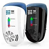 Upgraded Ultrasonic Pest Repeller Wall Plug-in - Most Effective 2019 Electromagnetic & Ionic Indoor Anti Mouse, Ant, Mosquito, Cockroach Control - Safe & Quiet Device, Night Light - 2000 Sq. Ft