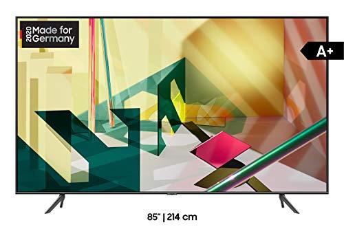 Samsung QLED 4K Q70T 214 cm (85 Zoll) (Quantum Prozessor 4K, Dual LED, Quantum HDR) [Modelljahr 2020]