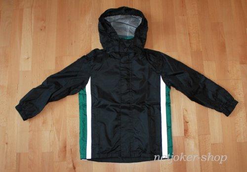 Crivit outdoor jongens regenjas, outdoorjas groen/zwart maat 122/128